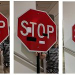 Researchers hack a self-driving car by putting stickers on street signs