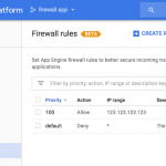 Introducing App Engine firewall, an easy way to control access to your app