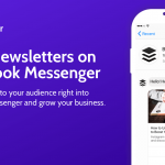 Send Newsletters on Facebook Messenger with Botletter