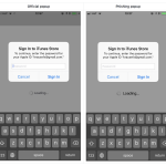 iOS Privacy: steal.password – Easily get the user's Apple ID password, just by asking