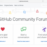 GitHub Launches Community Forums to Connect Developers