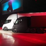 This is Tesla's big new all-electric truck – the TeslaSemi