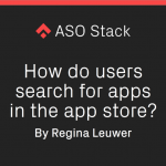 How Do Users Search for Apps in the App Store?