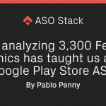 What analyzing 3,300 Feature Graphics has taught us about Google Play Store ASO