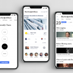 UI/UX case Study for The New York Times app