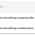 Android Things Release Candidate