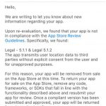 Apple Starts Removing Apps That Share Location Data With Third Parties