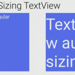 Auto-Sizing TextViews in Android
