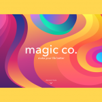Case Study: Magic.Co. Creative UI Design for a Landing Page