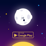 Animated Stars on Canvas for Android